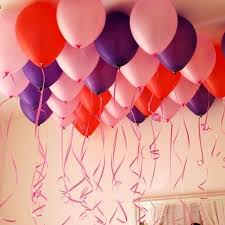 balloon ribbon 6pcs balloon rope foil balloon ribbon rope party wedding