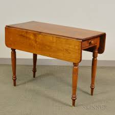 Antique Drop Leaf Table Search All Lots Skinner Auctioneers
