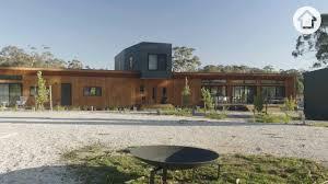 a multi generational home shaped like a bird realestate com au