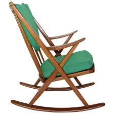 scandinavian modern rocking chair by frank reenskaug circa 1960
