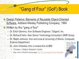 of four design patterns object oriented design patterns csc 335 object oriented