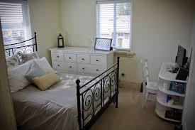 desk in small bedroom queen bed in small bedroom decoration home interior