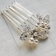 hair brooch leaf cluster hair comb by highland angel notonthehighstreet