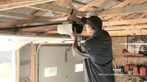 overhead garage door manual how to install a garage door opener youtube