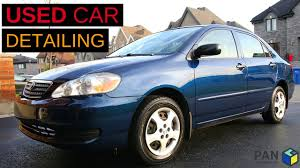 toyota an how to detail a used car an old toyota corolla 2006 youtube