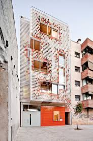 multi storey dwelling building at badalona by lagula arquitectes