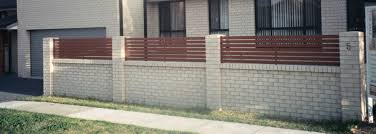 Fences Inspiration Unique Timber Fencing Australia Hipages Wall - Brick wall fence designs