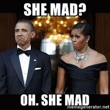 She Mad Meme - she mad oh she mad barack obama umad meme generator