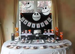 stylist design nightmare before birthday decorations