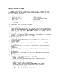 business report templates sample technical report business