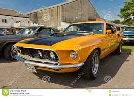 1969 mustang orange an orange 1969 ford mustang shelby editorial photography image