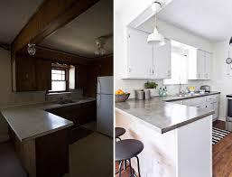 cuisine avant apres rénovation cuisine avant après