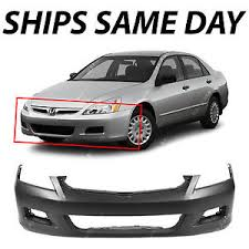 honda accord front windshield replacement primered front bumper cover replacement for 2006 2007 honda