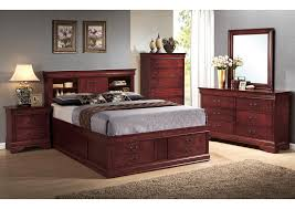 love u0027s furniture newark ny louis philippe cherry king storage bed