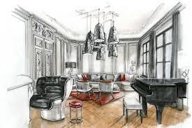 Wohnzimmer Einrichten Skizze Raumkonzepte Peter Buchberger Project Maria Theresia Strasse
