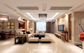 ceiling partition for living room and dining room rich famous interior living room and dining room interiors design ideas with ceramics floor and beige wall color theme combine with white sofas and backless chairs also