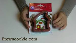 gingerbread house cookie cutter with comfort grip by wilton youtube