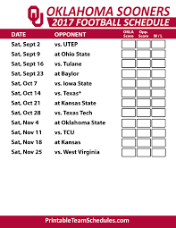 ou football schedule cantech