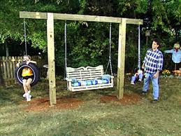Swing Sets For Small Backyard by Best 25 Bench Swing Ideas On Pinterest Outdoor Patio Swing Tin