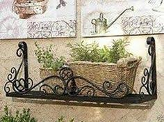 Wall Plant Holders Wrought Iron Wall Planter Wall Plant Pot Holder Planter Bracket