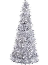 tinsel christmas tree bigbolo 3d silver tinsel christmas tree