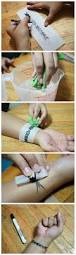 diy temporary body tattoo easy peezy just use tracing paper a