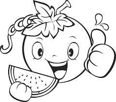 coloring page fruit coloring home