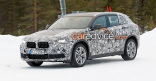 2018 bmw x2 spied at the snow photos 1 of 10