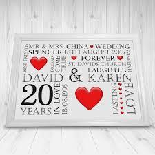 20th wedding anniversary ideas wedding ideas china gifts for 20th wedding anniversary ideas