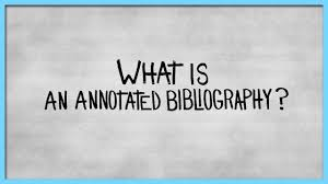 free annotated bibliography templates free sample example Annotated Bibliography Services