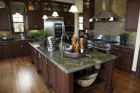 Cherry Wood Kitchen Cabinets With Black Granite Luxury Kitchen Ideas Counters Backsplash Cabinets Designing