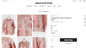 urban outfitters apologizes for insensitive kent state sweatshirt