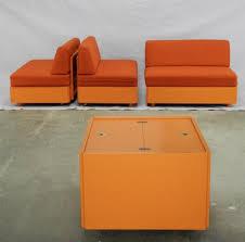 vintage studioline living room set by verner panton for france