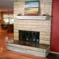 decoration contemporary fireplace mantel shelves stone fireplace
