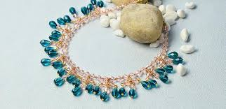 tutorial necklace making images Pandahall tutorial on making a simple bead and chain collar jpg