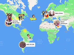 Where Is Puerto Rico On A Map by How Snapchat U0027s Snap Maps Feature Could Be Big For Advertisers