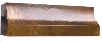 Range Hood Under Cabinet Under Cabinet Copper Range Hood Handcrafted In Usa By The Metal