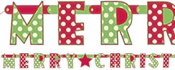 merry christmas banner christmas banners party delights
