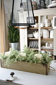 diy rustic wood box centerpiece liz marie blog