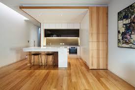Kitchen Architecture Design by Treetop House Melbourne Matt Gibson Architecture Design