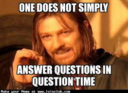 Meme Questions - lol s club 盪 laugh out loud s club 盪 one does not simply answer
