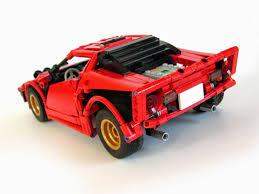 lego mitsubishi evo lancia stratos made of lego