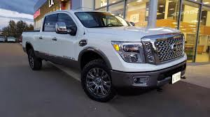 white nissan truck 2016 titan xd platinum reserve color options copper black red