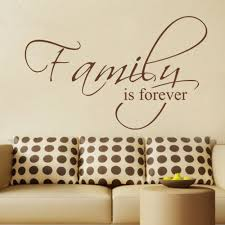 family is forever bedroom decals wall decal quote vinyl text