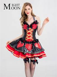 online get cheap red queen halloween costume aliexpress com