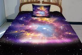 Space Bed Set Set Up A Galaxy Bedspread Decor Bedspread Ideas