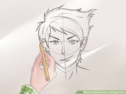 3 ways to draw anime or manga faces wikihow