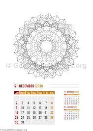 flower mandala december calendar coloring pages u2013 getcoloringpages org