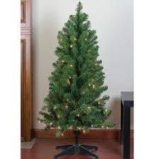 4ft christmas tree 4ft pre lit noble pine christmas tree boscov s