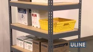 Metal Storage Shelves Wide Span Storage Shelving Youtube